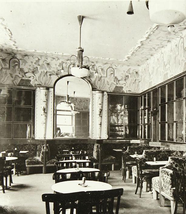 Inside Café Josephinum, the convening place of the Vienna Circle