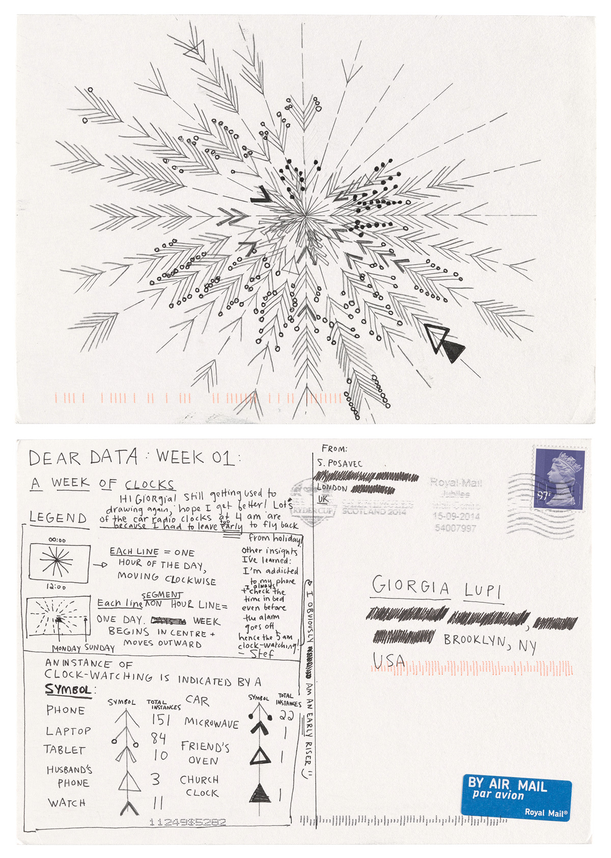 Dear Data: A Lyrical Illustrated Serenade to How Our