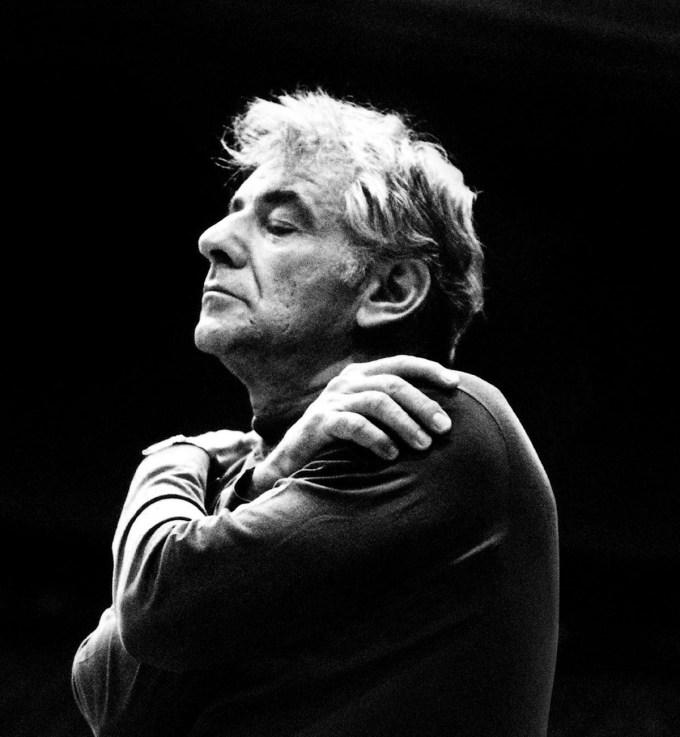 Leonard Bernstein in his final years