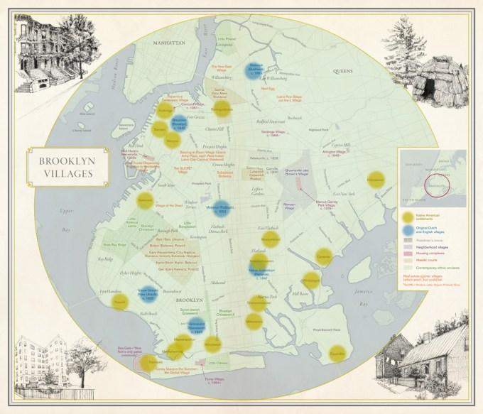 Cartography: Molly Roy; artwork: Hannah Chalew