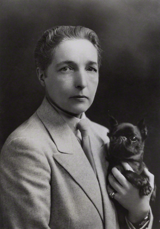 Radclyffe Hall by unknown photographer, circa 1930 (National Portrait Gallery)