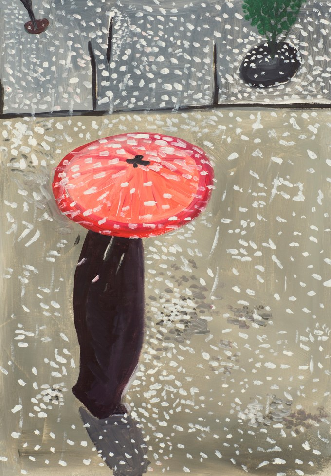 Illustration by Maira Kalman, based on Hatsuo Ikeuchi's Snowflakes, c. 1950.  (Courtesy of The Museum of Modern Art © Maira Kalman)
