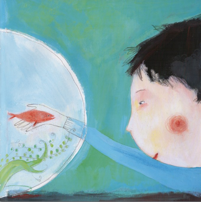 This Is a Poem That Heals Fish: An Almost Unbearably Wonderful Picture-Book About How Poetry Works Its Magic Artes & contextos poem fish13