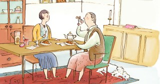 An Illustrated Fictional Day in the Real Lives of Alice B. Toklas and Gertrude Stein
