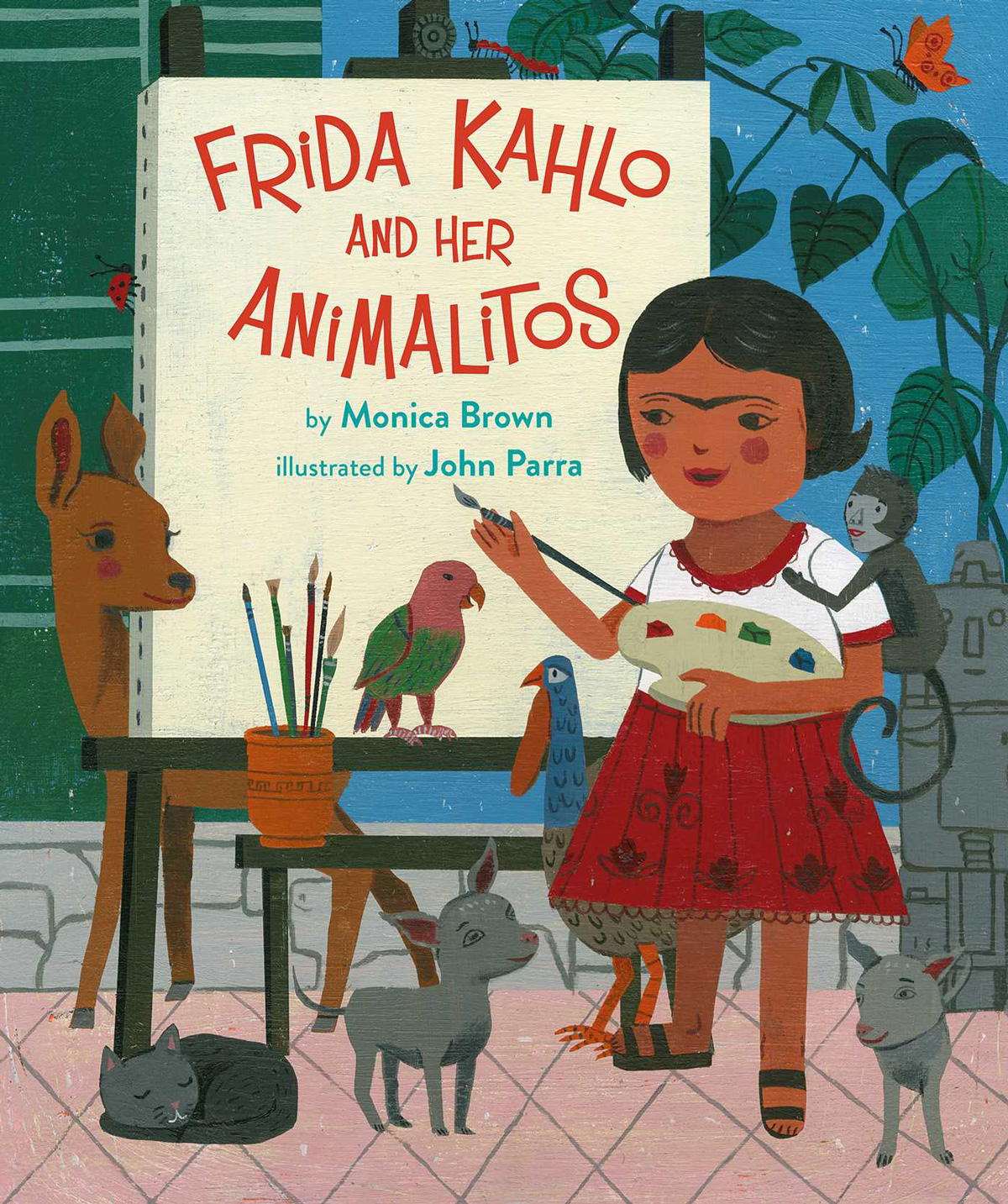 Frida Kahlo and Her Animalitos: An Illustrated Celebration of How the Pioneering Artist's Love of Animals Shaped Her Character