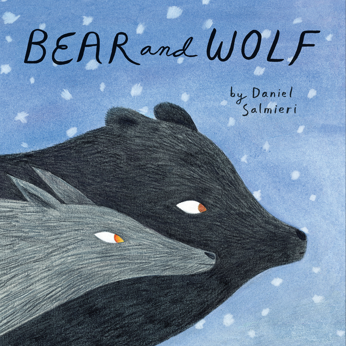 Bear And Wolf A Tender Illustrated Fable Of Walking Side By Side In