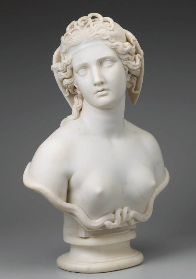 Harriet Hosmer on Art and Ambition: The World's First Successful Woman Sculptor on What It Takes to Be a Great Artist Artes & contextos harriethosmer medusa