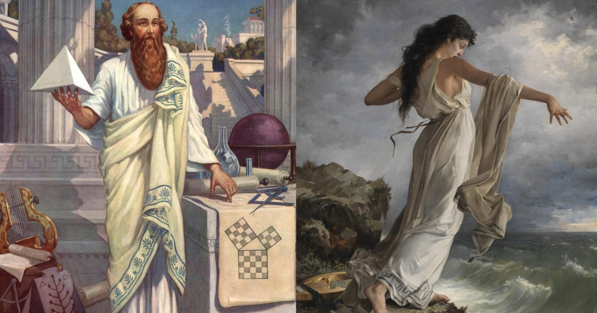 The Invention of the Love Song, the First Algorithm, and the Mathematics of Transcendence: Pythagoras, Sappho, and How Music Made the World Modern