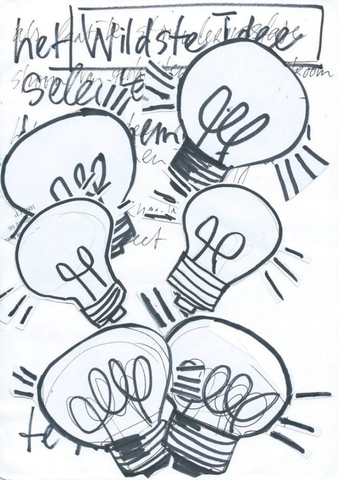 wild, wilder, gek, raar, maf, idioot, gek, raar, vreemd, wildste, weird, idee, lachen, stimulering, brainstormen, brainstorming, brainstormen