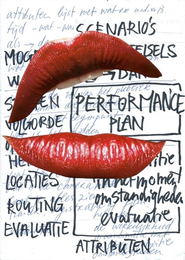 performance, robert, pennekamp, throwaway, garbage, plasticsoup, plastic, outfit, amsterdam, contemporary, mask, hair, dress, art, rood, oranje, netjes, verpakkingen, verpakkingsmateriaal