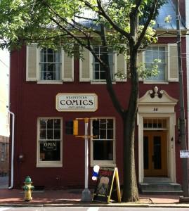 Brainstorm Comics & Gaming 54 E. Patrick Street Frederick, MD