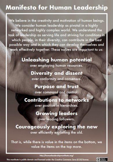 Manifest für menschliche Führung