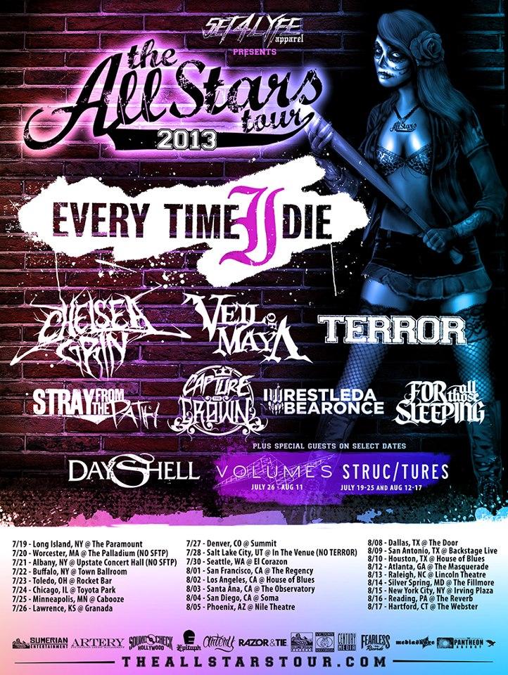 The Allstars tour 2013