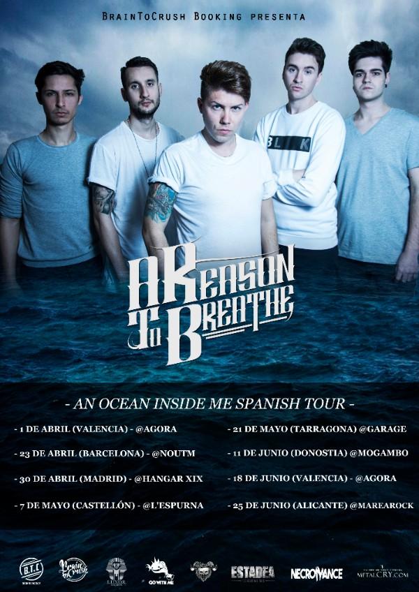 a reason to breathe spanish tour