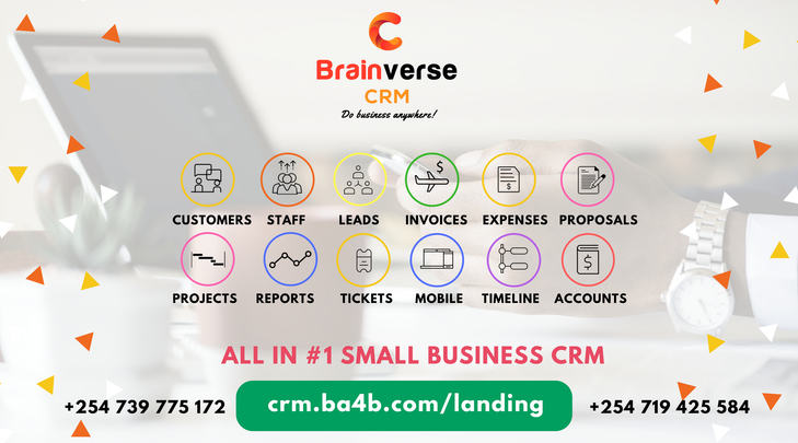 Brainverse CRM - Automate your business 100%