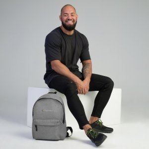TrustMetryx Embroidered Backpack