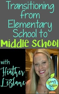 Tips for Transition from Elementary School to Middle School
