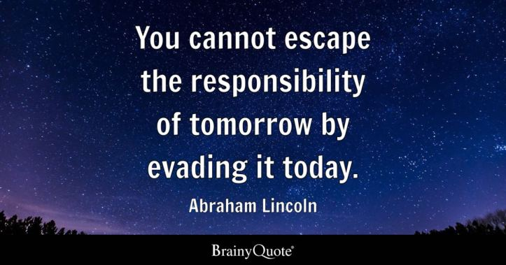 Image result for responsibility quotes