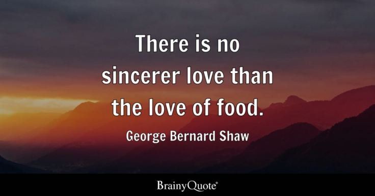 George Bernard Shaw - There is no sincerer love than the...