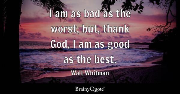 Walt Whitman Quotes BrainyQuote