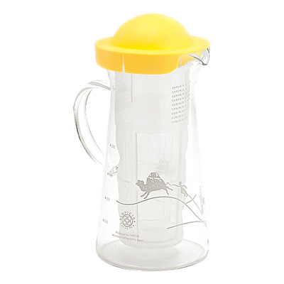 [image: product photo of Lupicia's Handy Cooler (Half) in Yellow]