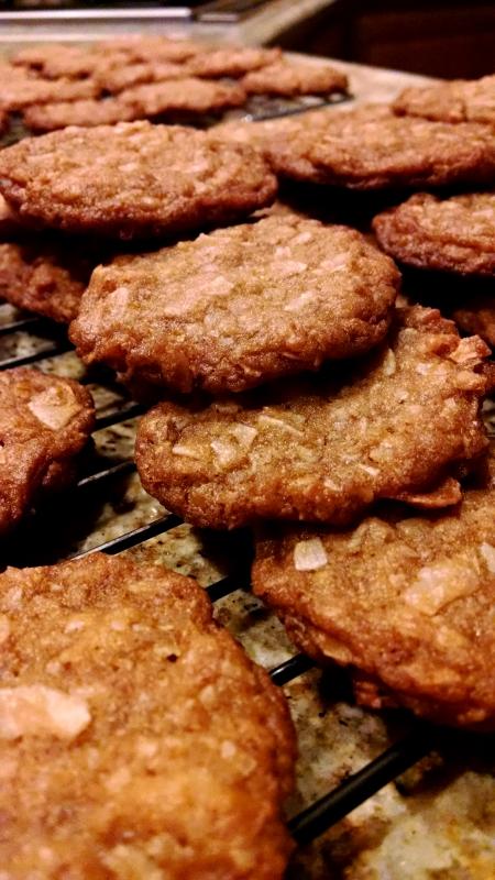 [image: coconut brown butter cookies]