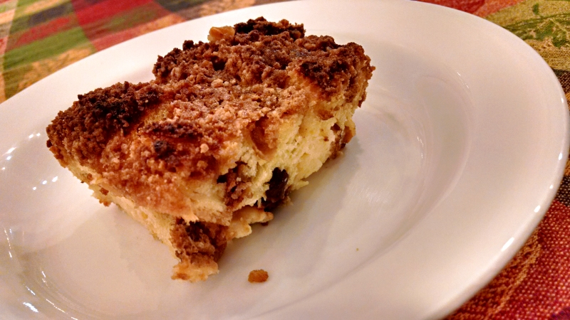 [image: cinnamon bread pudding, I couldn't decide which photo I liked better]