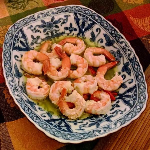 [image: garlic shrimp]