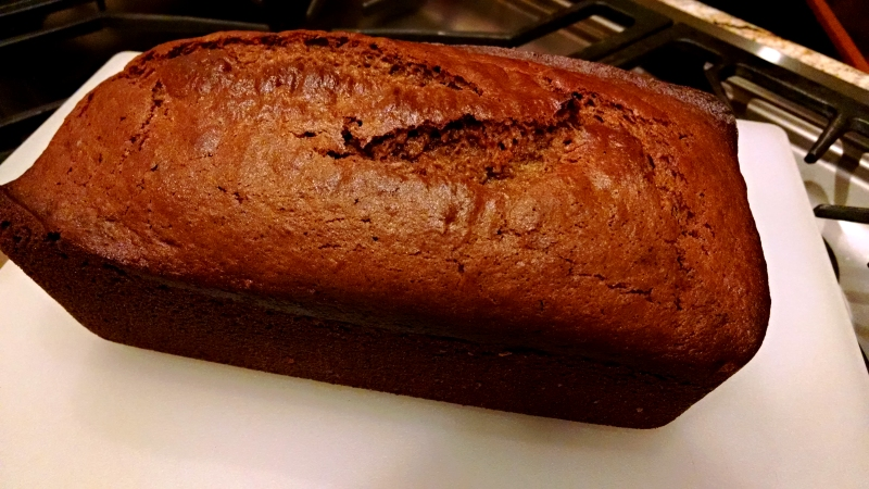 [image: loaf of sweet potato spice bread]