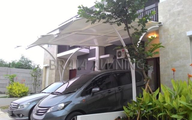 tenda membrane garasi mobil jakarta