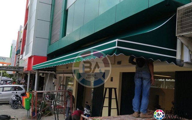 canopy kain jakarta hijau 3
