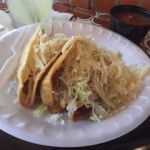 Hacienda on the Lake Taco Tuesday chicken and beef tacos