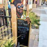 Rasta Taco Sidewalk Board