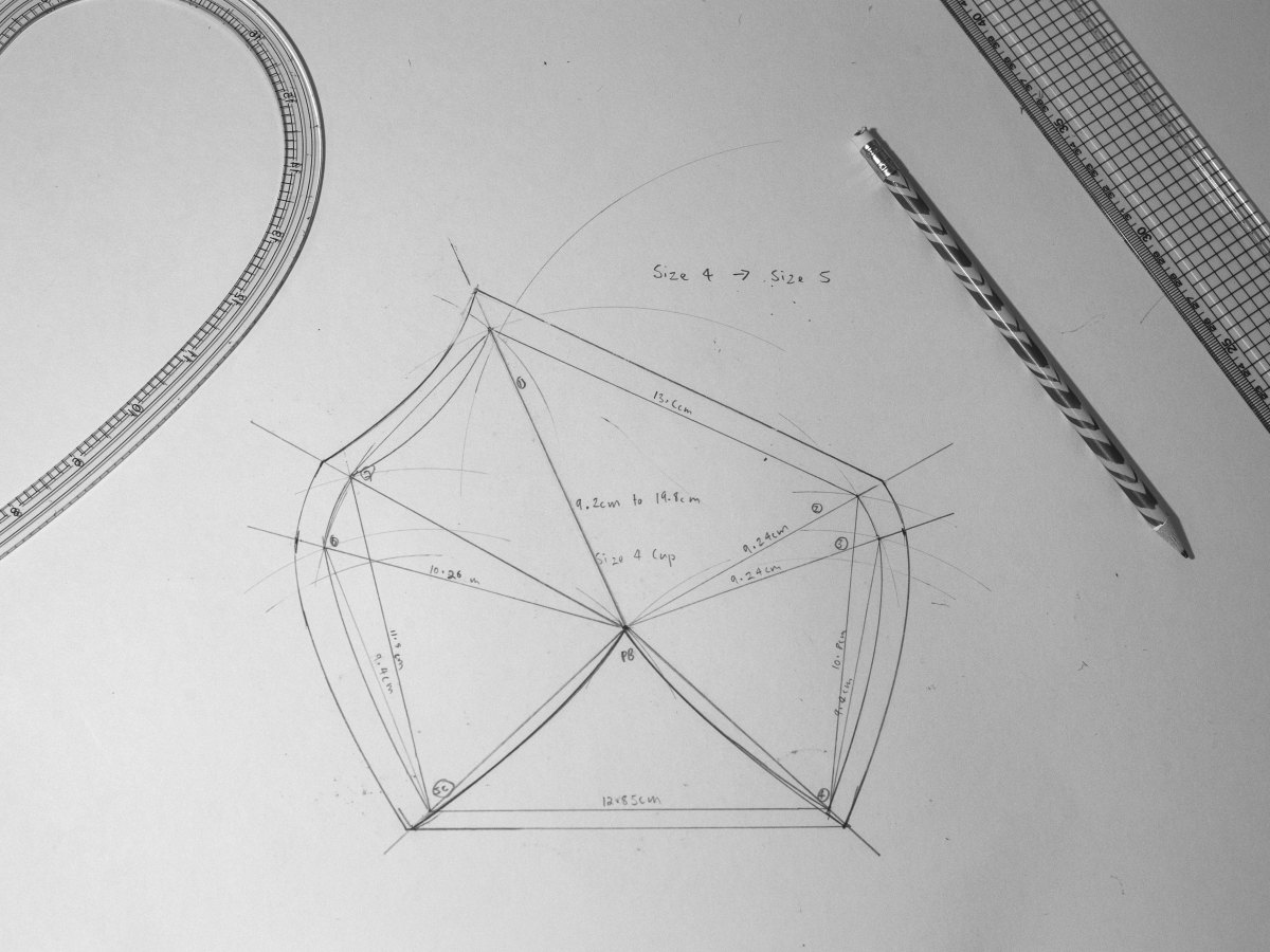 Project Pattern Making Bra Edition: Foundations Revealed ...