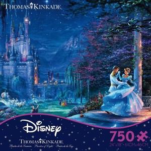 prince dancing with Cinderella