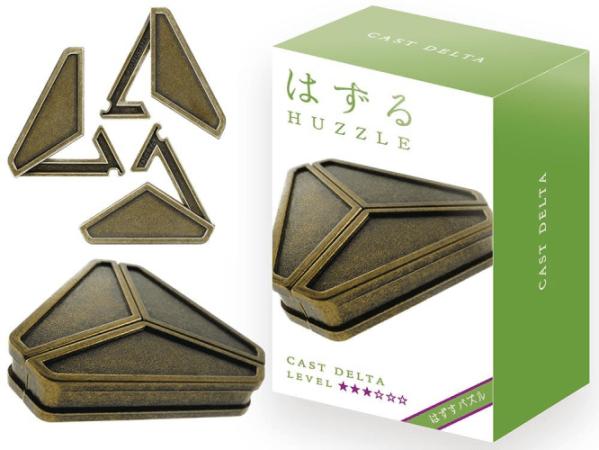 Hanayama Huzzle Delta Cast Metal Puzzle