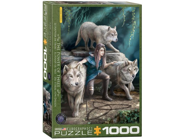 Anne Stokes The Power of Three 1000 pc Puzzle