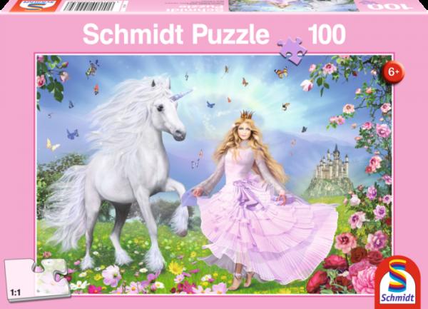 The Unicorn Princess 100 piece Jigsaw