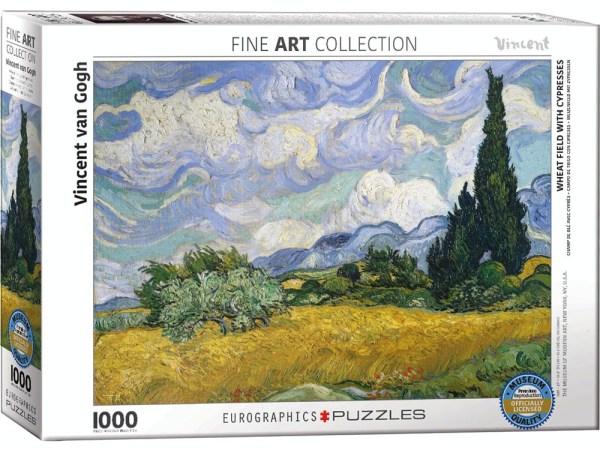 van Gogh Wheat Field 1000 pc Jigsaw
