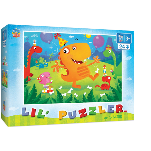 Dino Party 24 pc puzzle