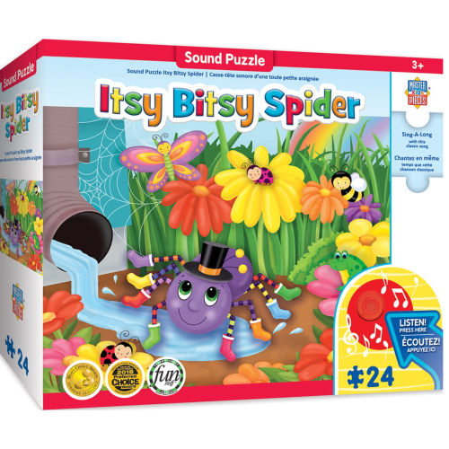 Itsy Bitsy Spider Sing-a-Long 24 pc puzzle
