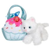 Cat in Cupcake Bag