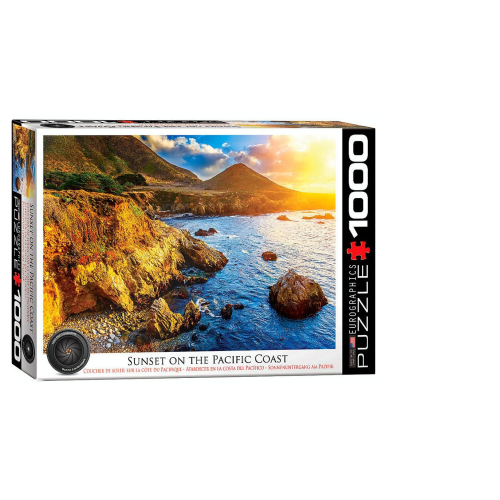 Sunset on the Pacific 1000 pc Puzzle