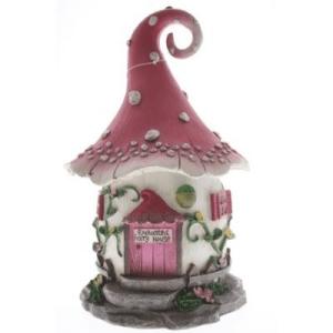 Enchanted Solar Fairy House