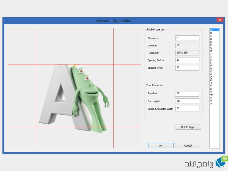 Glyphs Editor