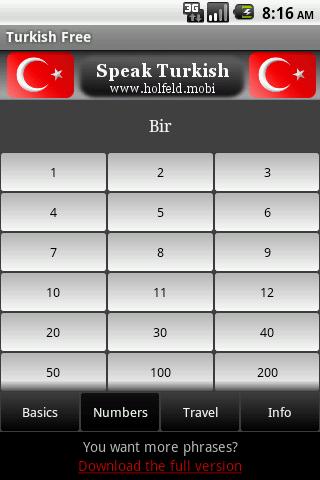 تحدث التركية Speak Turkish