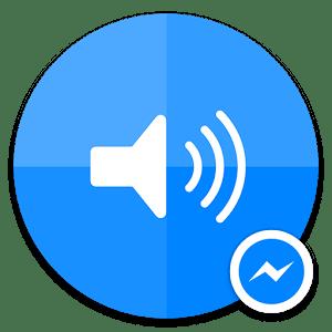 sound clips facebook messenger logo