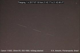 Tiangong 1 - Alexandre Amorim - Florianopolis, SC