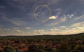 Meteoro registrado em Nova Redenção, BA - Créditos: IBSOL Telecom / Clima ao Vivo