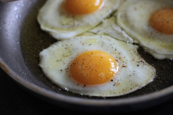 Image result for 3 eggs sunny side up calories